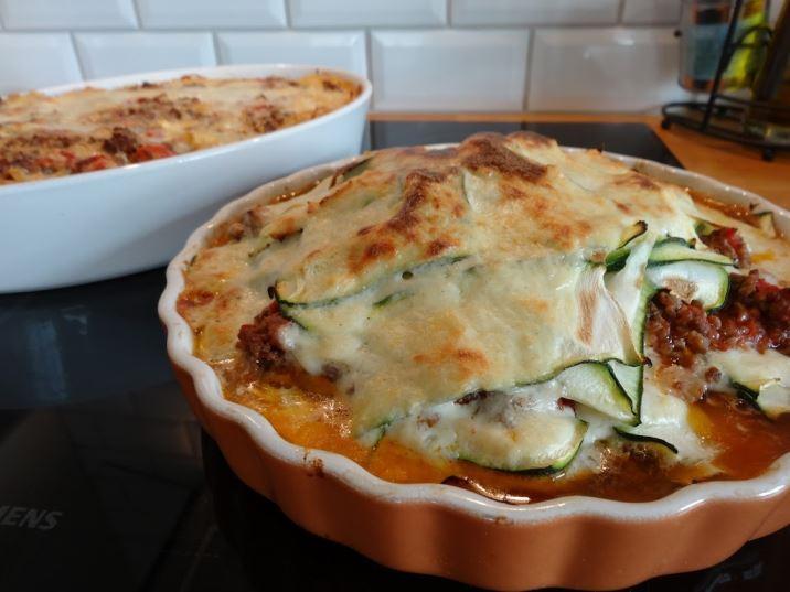 auberginelasagne utan pasta