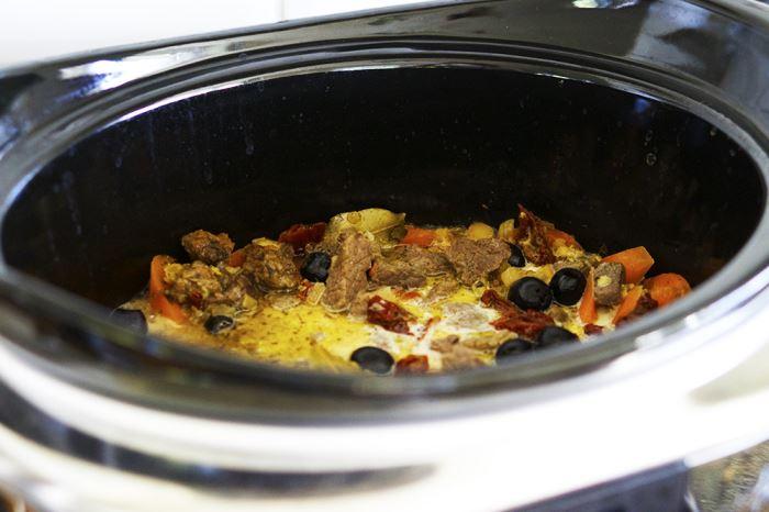 Köttgryta Crockpot