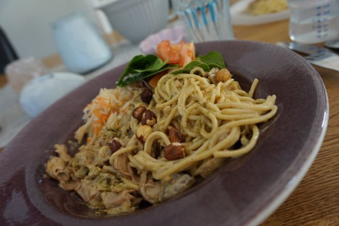 Spagetti med hasselnötter (3)