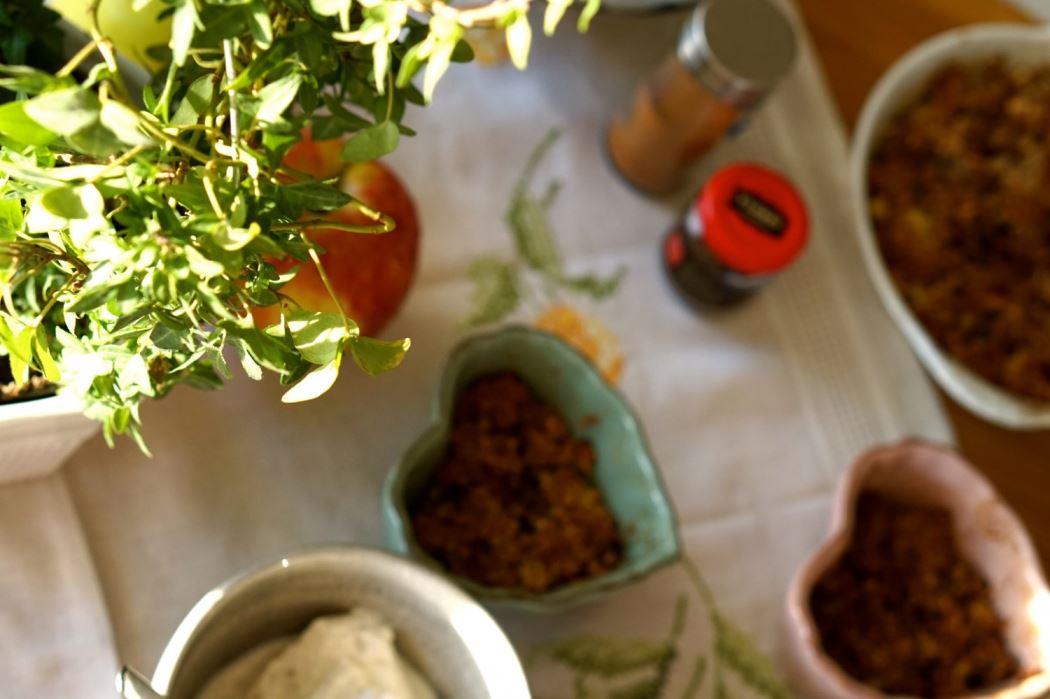 Äppelpaj utan socker och mjöl 6