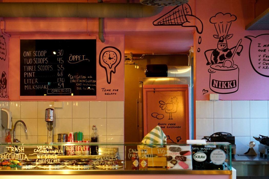 Paradiset matmarknad Stikki Nikki cafe 2