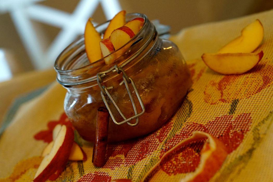 sockerfritt äppelmos