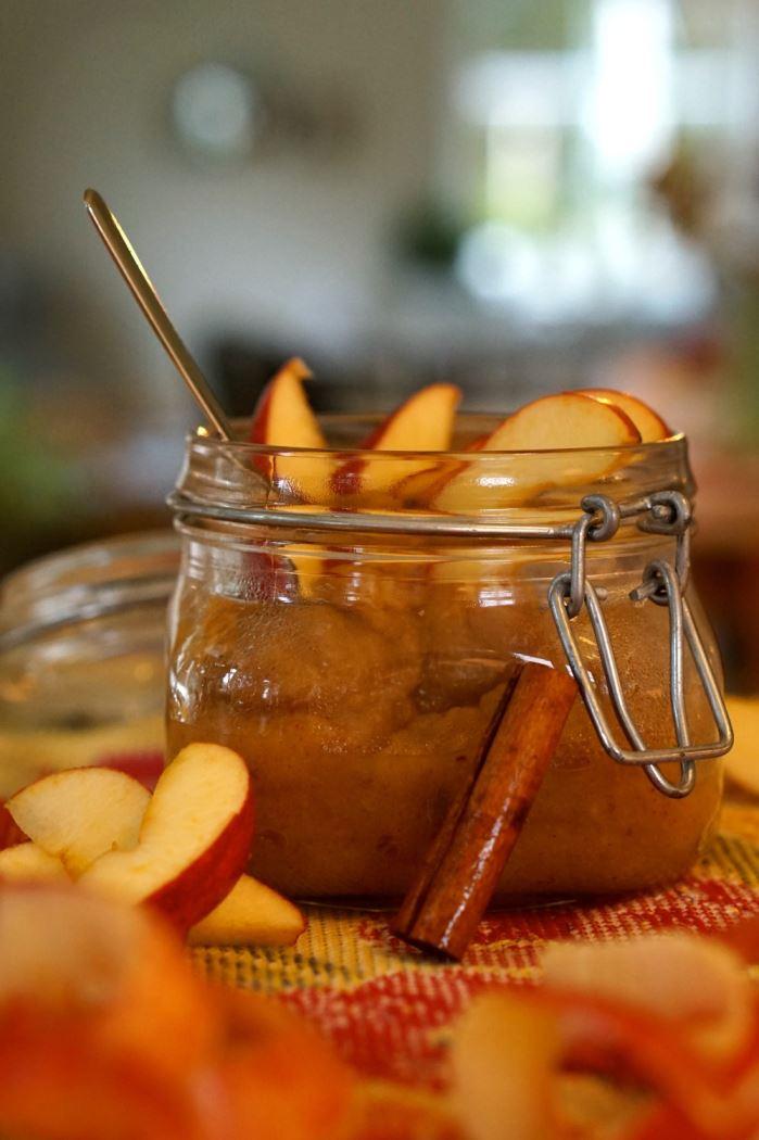 sockerfritt äppelmos 2