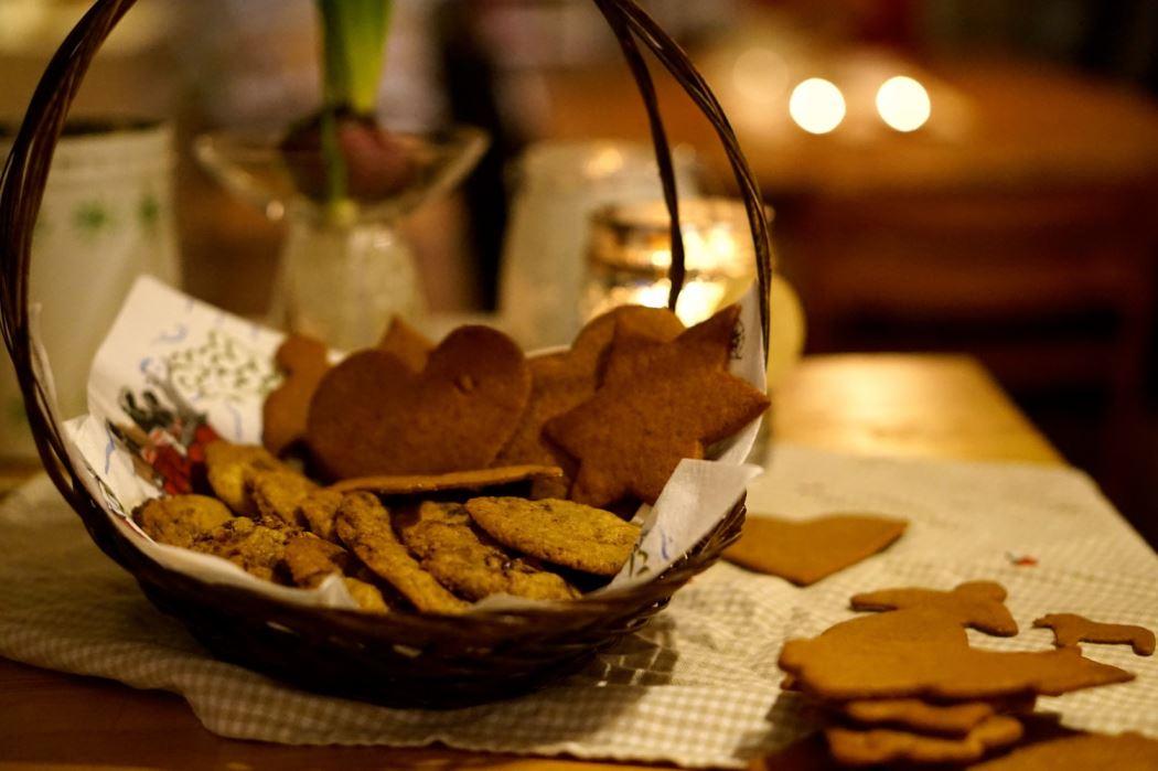 pepparkakor och pepparkakscookies