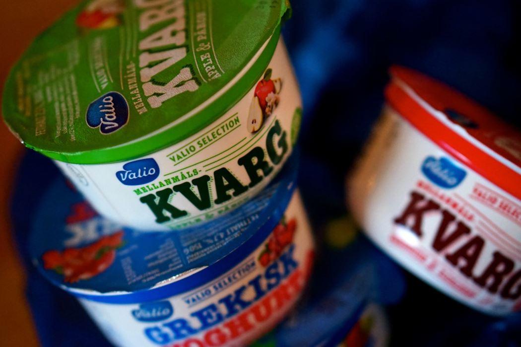 turkisk yoghurt och kvarg valio