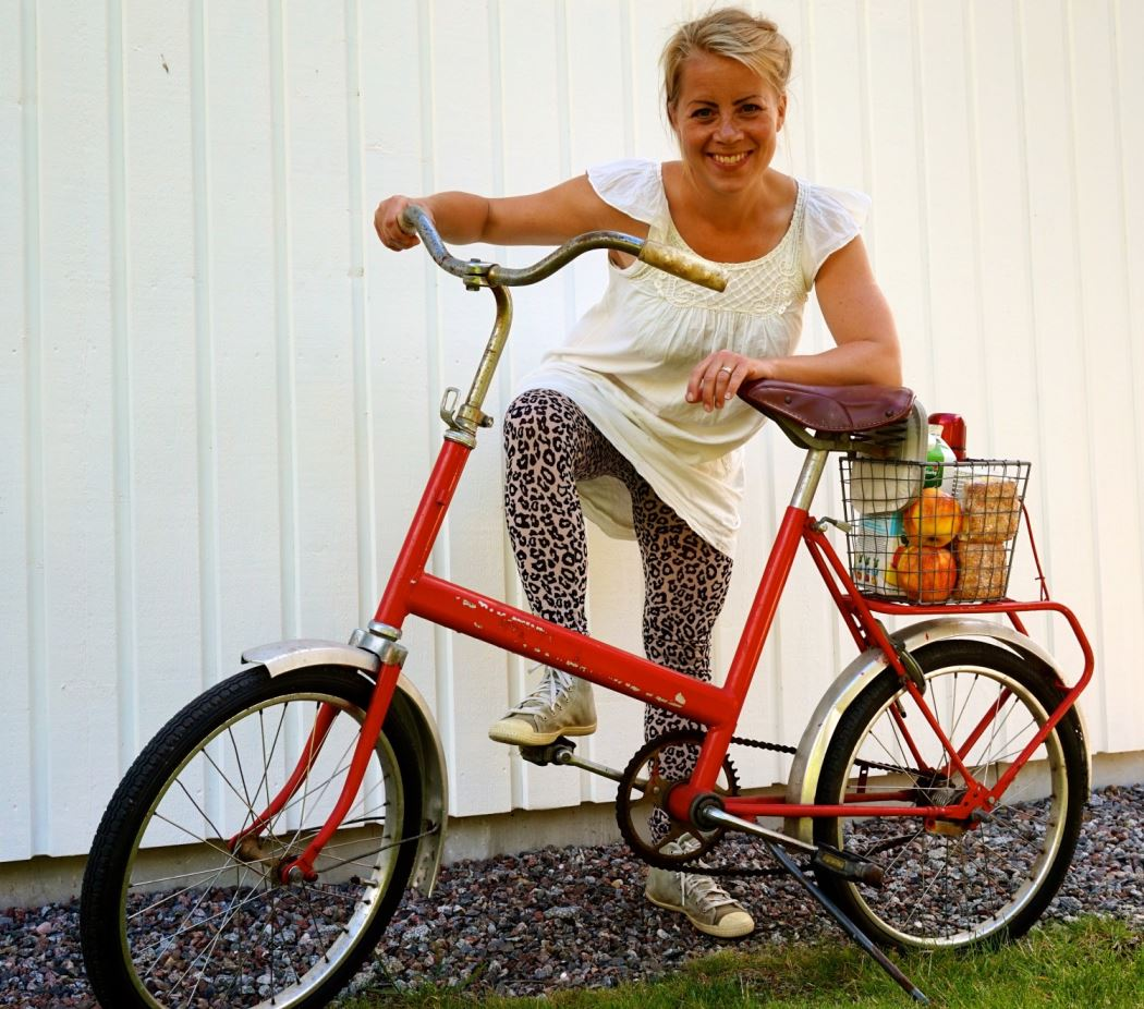 cykeltur på morsdag