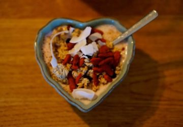 smoothiebowl julafton
