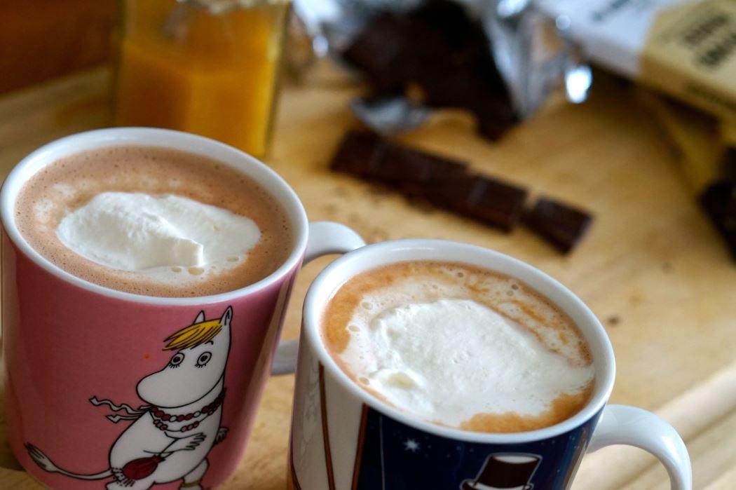 Varm choklad utan socker