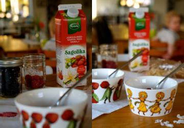 Sagolika jordgubbskvarg