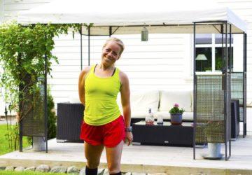 Lyckan i att springa - Karin Axelsson efter löpning
