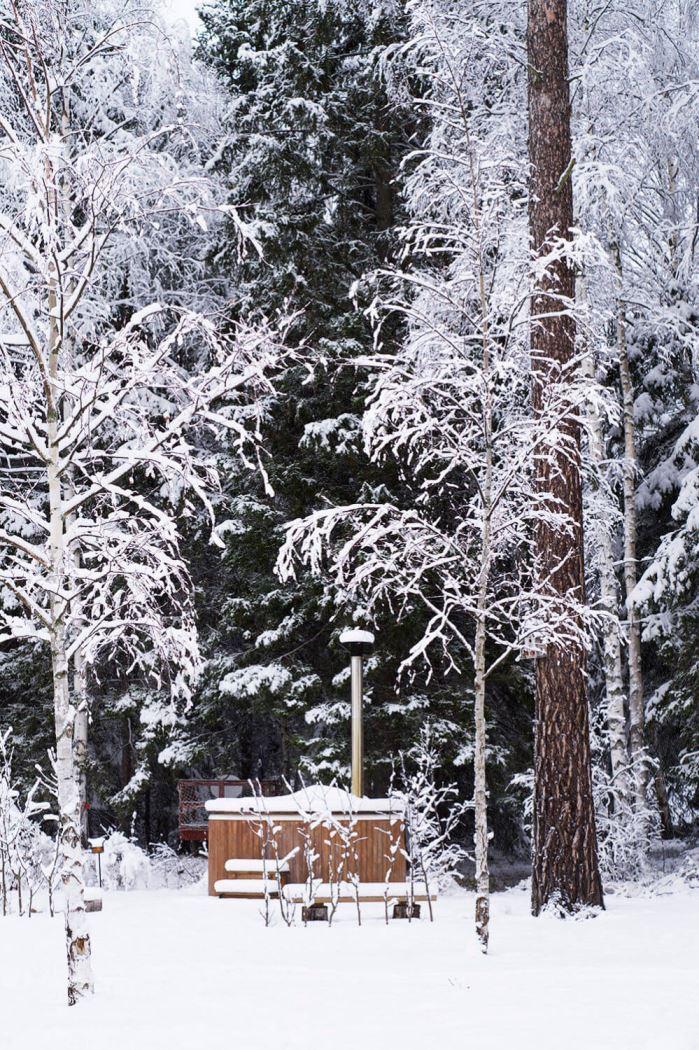 julhelg vinter