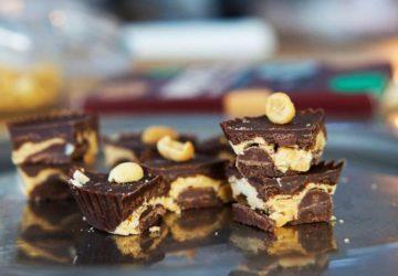 Nyttigt chokladgodis - Recept på choklad och jordnötsgodis