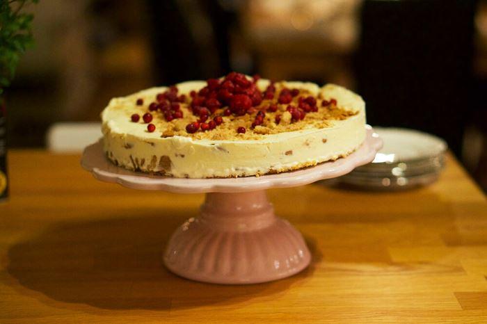 Pepparkakscheesecake recept