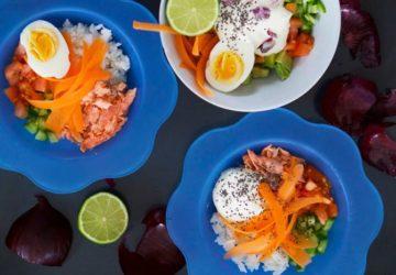 Lax bowl - bra mat för vuxna och barn