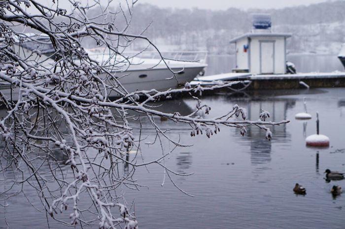 Vinter Norr Mälarstrand