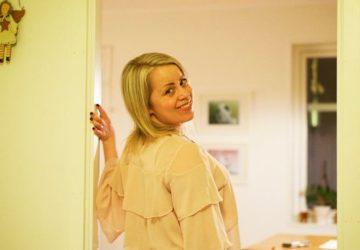 Karin Axelsson ny frisyr