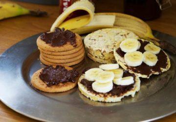 Nutellakex med banan