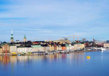 Stockholm och Fotografiska en vacker vårmorgon