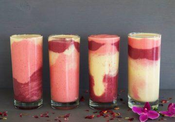 Rainbow smoothie