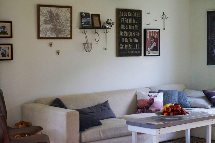 Vardagsrummet hemma hos oss