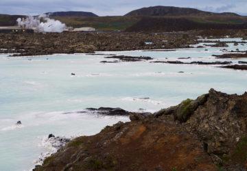 Den blå lagunen på Island