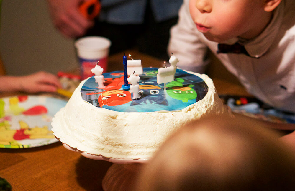 födelsedagskalas för vår 6-åring