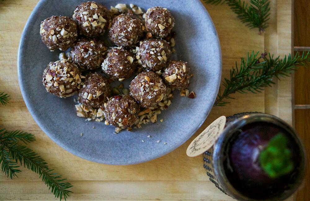 Pepparkaksbollar - baka till jul
