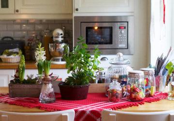 Julfint i köket