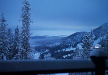 Magisk morgon i Björnen, Åre