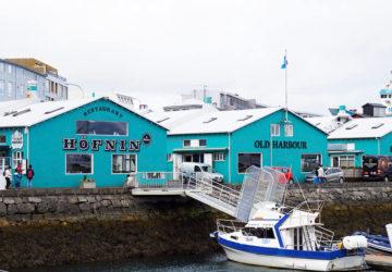 Reykjavik - huvudstaden på Island