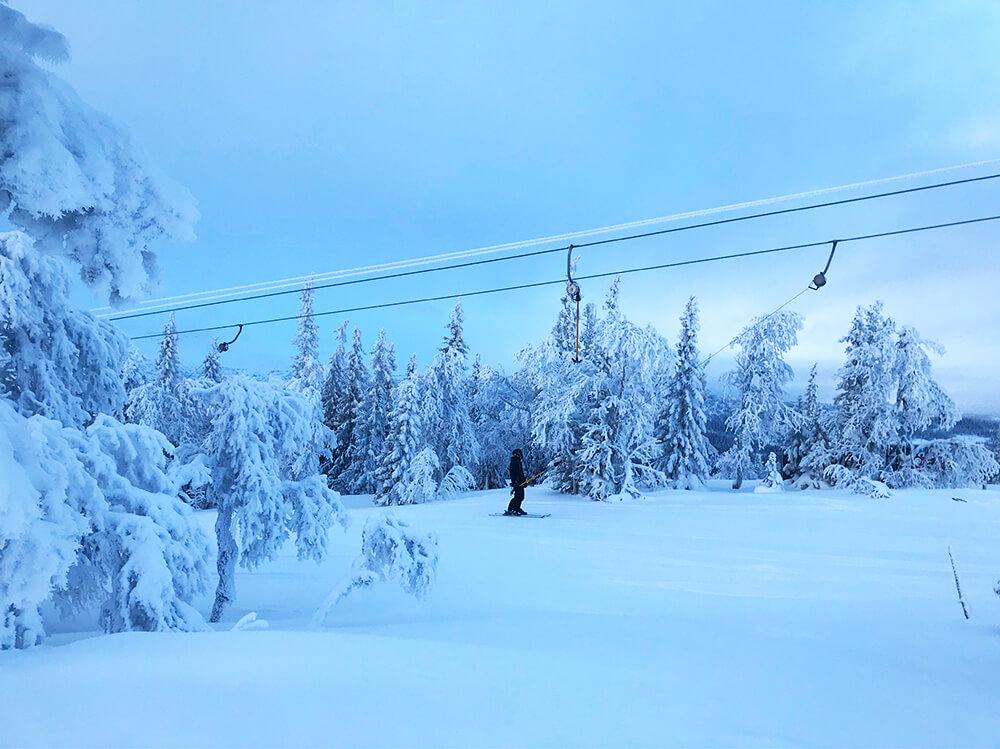 skidåkning i Åre