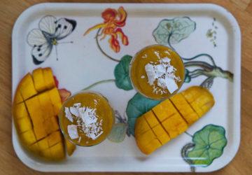 mangosmoothie med kokos