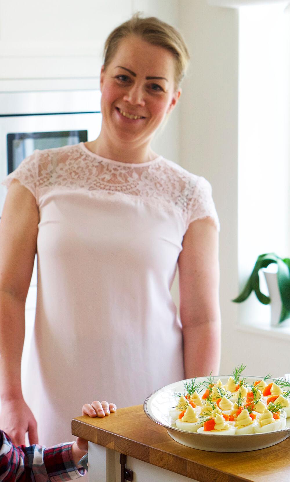 Påskdagen buffé Karin