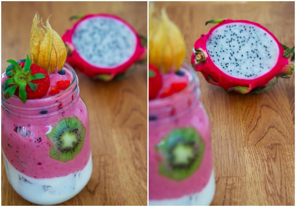 Smoothiebonanza - härliga smoothies i glada färger