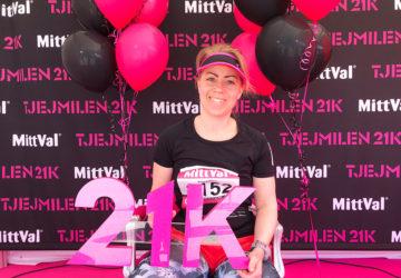Tjejmilen21k 2018 - Karin Axelsson