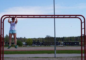 Armgång med Karin Axelsson