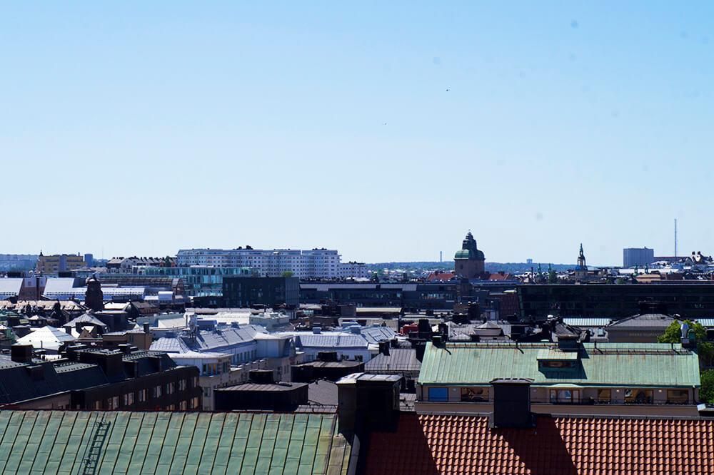 Från Stockholms tak på Urban deli