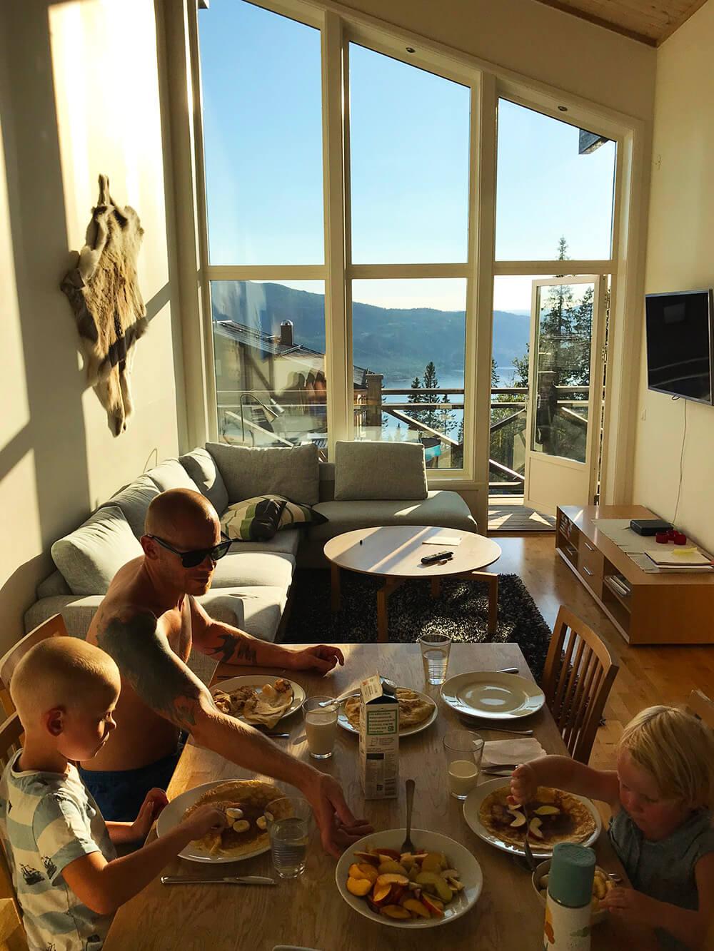 middag i Björnen, Åre