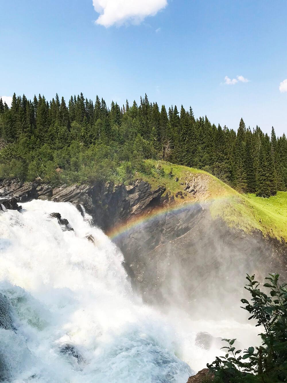 Tännforsen vattenfall