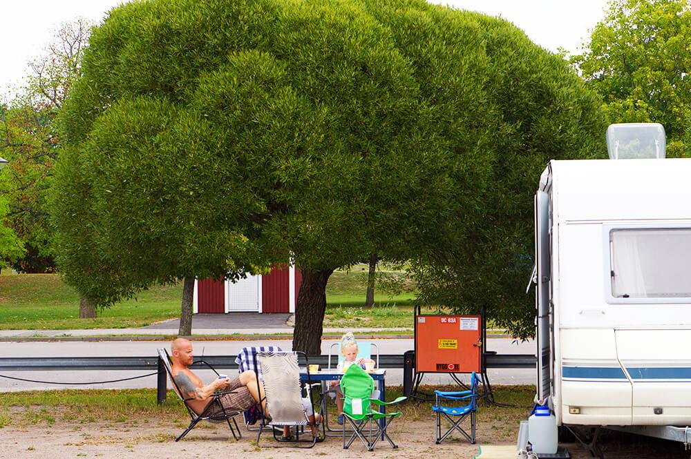 Camping i Åtvidaberg