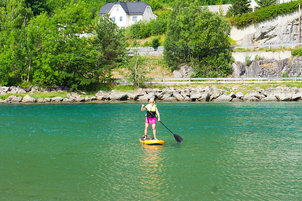 Stand Up Paddling - SUP i Norge - mina bästa tips