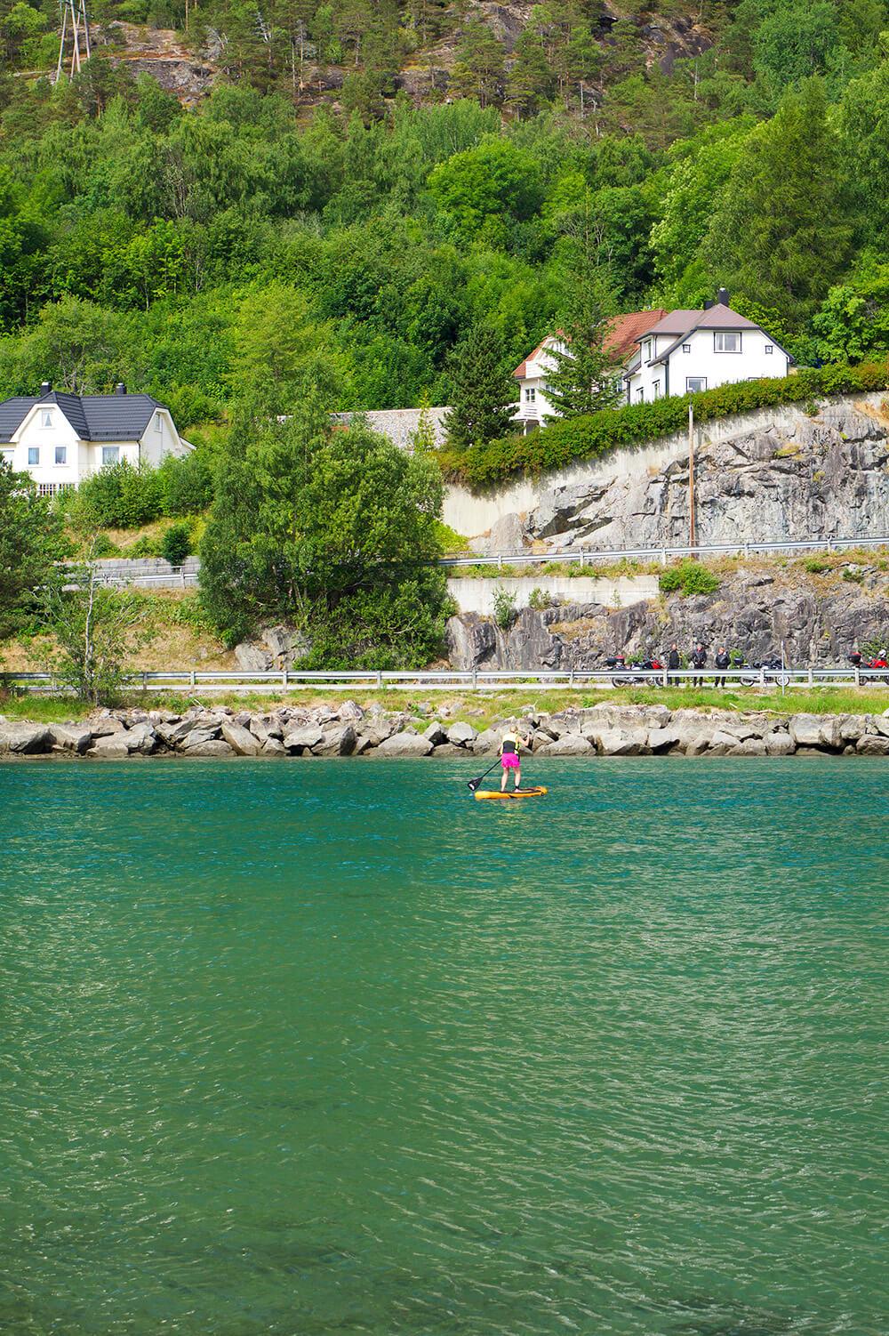 Stand Up Paddling - SUP i Norge - mina bästa tips