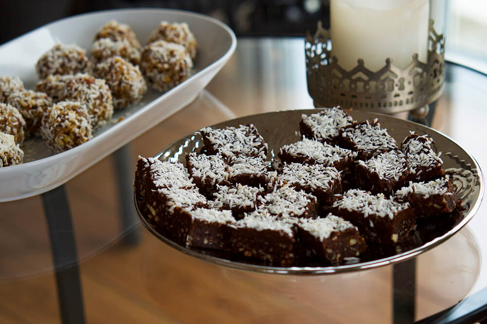 Rawfoodbollar kardemumma kokos recept