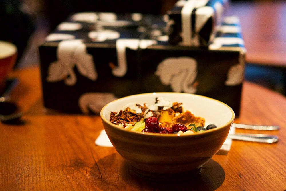 frukostbowl på Non Solo Bar