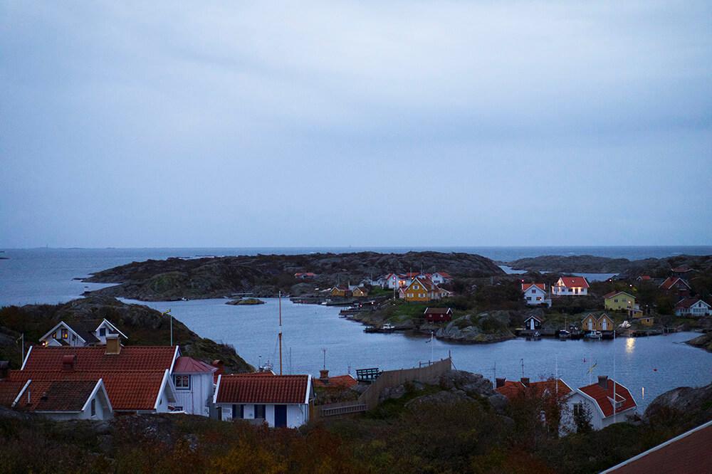 Yoga Island - utsikt över Kyrkesund