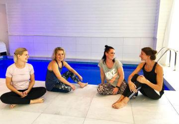 Yoga Island - häng vid inomhuspoolen