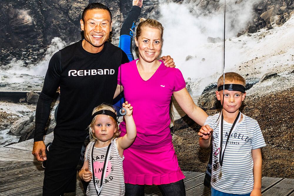 Extremfabriken i Kallhäll - ett event med Rehband och Mårten Nylén
