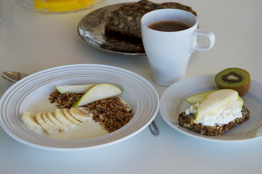Yoga Island frukost