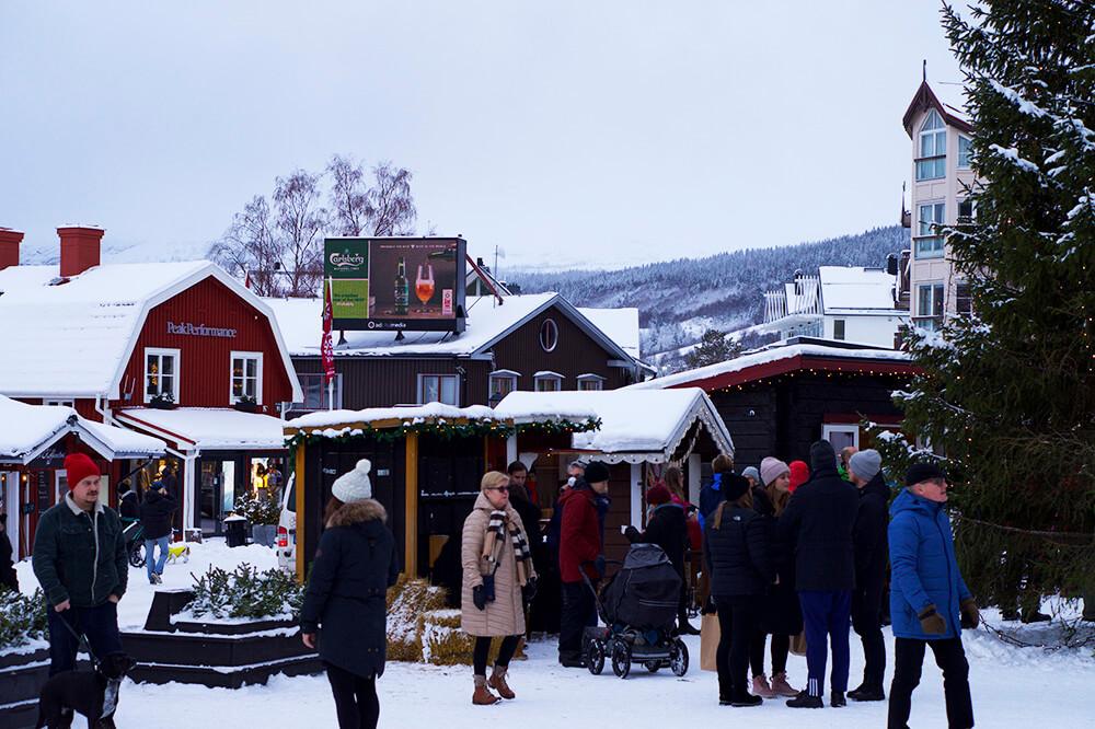 Julafton i Åre