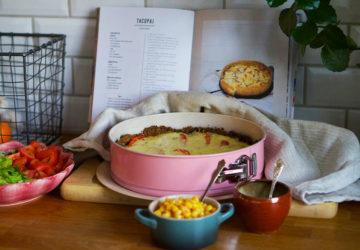Tacopaj recept från kokboken Viktiga Barn